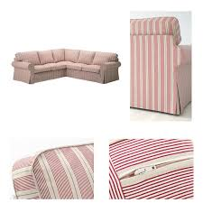 Pink Sofa Slipcover by Furniture Replace Or Upgrade Your Furniture With Ektorp Slipcover