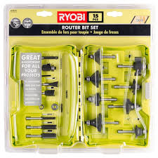 Kitchen Cabinet Router Bits by Ryobi Router Bits Woodworking Tool Accessories The Home Depot