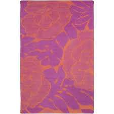 paddington pink coral area rug liked on polyvore featuring