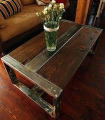 handmade wood coffee table handmade wood coffee table handmade reclaimed wood steel coffee