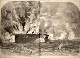 Civil War Battle Flag Fort Sumter 33 Star Flag