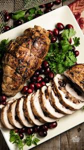 cranberry and apple stuffed turkey paleo leap