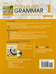 focus on grammar 1 with myenglishlab 3rd edition irene e