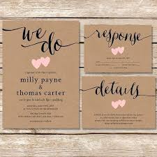diy wedding invitations diy rustic wedding invitations burlap awesome wedding invitation