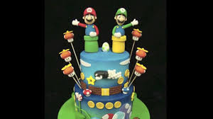 mario birthday cake mario bros birthday cake