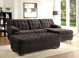 Black Microfiber Sectional Sofa With Chaise Articles With Black Leather Sectional Sofa With Chaise Tag