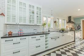 Country Kitchen Designs Layouts Kitchen Black And White One Wall Kitchen With Farmhouse Sink