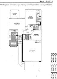 Dr Horton Cambridge Floor Plan Sun City Grand Floorplans Retirement Communities Arizona