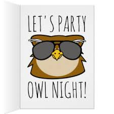 owl birthday cards photocards invitations u0026 more