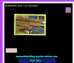 Essential Woodworking Tools List by