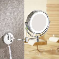 lights sensational ideas bathroom magnifying mirrors home design