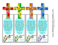 printable easter bookmarks to colour easter printables resources