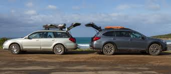 subaru outback modified subaru outback 2005 vs 2015 2012 practical motoring