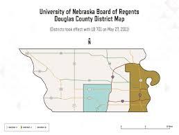 Nebraska County Map Board Members U0026 Districts University Of Nebraska