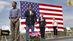 Barack Obama Flag Barack Obama And The National Anthem Youtube