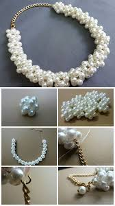 jewelry making pearl necklace images 485 best collares de moda images fashion necklace jpg
