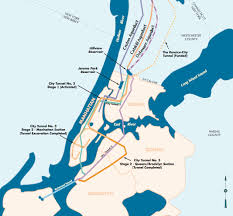 New York City Area Map by Nyc Water Tunnels New York Metropolitan Area Pinterest