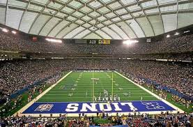 detroit lions at silverdome the days