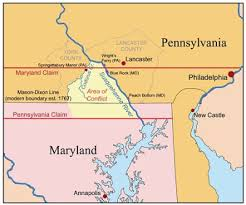 me a map of maryland map of the week the pennsylvania maryland war