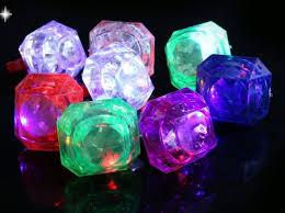 led light up rings flashing led light up ring glow in the dark flash blinking huge