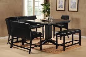 black dining room set modern square dining table dcbackup designs