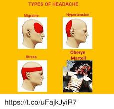 Meme Types - types of headache migraine hypertension oberyn martell stress