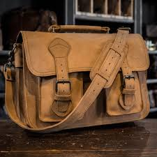 Mens Rugged Fashion Mens Leather Briefcase Rugged Briefcase Buffalo Jackson