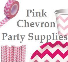 Pink And Yellow Birthday Decorations Best Pink Chevron Party Supplies Birthday Baby Shower Chevron