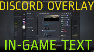 discord overlay how to use discord text chat overlay in your game youtube