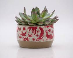owl planter for succulents ceramic planters handmade owl
