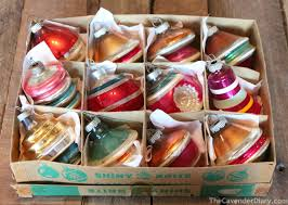 awesome picture of vintage glass tree ornaments 2340