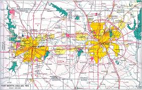 Texas Map Cities Dallas Texas Map And Dallas Texas Satellite Image