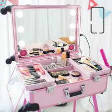 Makeup Box 2016 new big type led multimedia makeup box usb bluetooth speakers