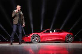 new tesla roadster upstages rollout of electric big rig truck