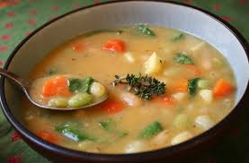 what did you eat whb hearty vegetable soup thyme