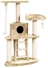 Cat Gyms Tri Level Entertainment Center Ladder Fun Cat Jungle Gyms