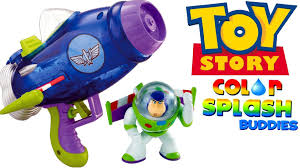 aqua blast spaceship color changers splash buddies buzz lightyear