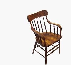 antique oak chair vintage wood captain chair by oceansidecastle