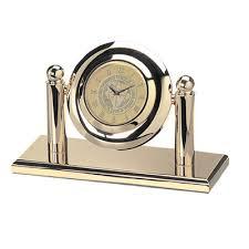 Notre Dame Desk Accessories Notre Dame Of Maryland Bookstore Arcade Desk Clock