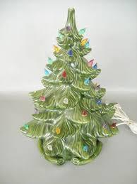 house of marlowe memoirs vintage ceramic christmas trees