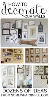 dozens of diy wall hangings decorating walls and diy wall