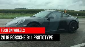 porsche prototype spotted a 2019 porsche 911 992 prototype around stuttgart youtube