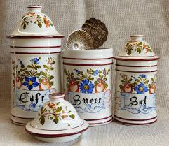 kitchen canisters ceramic vintage kitchen canisters french kitchen canisters storage jars