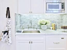 ceramic subway tile kitchen backsplash white subway tile ideas