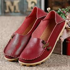 Comfortable Moccasins Aliexpress Com Buy Women Flats Comfortable Moccasins Loafers