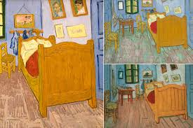 vincent van gogh bedroom vincent van gogh s bedrooms at the art institute of chicago 6 ways