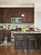 Black Kitchen Cabinets White Subway Tile Dark Kitchen Cabinets Open Design Kitchen