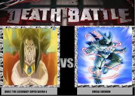 Broly Meme - death battle meme broly ssj4 vs omega shenron by wolfblade111 on