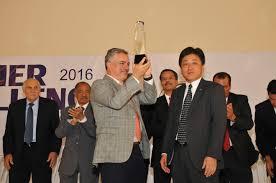 mazdamotors arbomex reconocida como el mejor proveedor del año 2017 de fca y