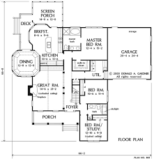 Donald A Gardner Floor Plans Home Plan The Crosswinds By Donald A Gardner Architects